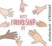 illustration of hand of... | Shutterstock .eps vector #678026665