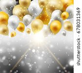 celebration background with...   Shutterstock .eps vector #678031369
