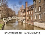 cambridge  the mathematical... | Shutterstock . vector #678035245