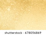 golden bubbles background | Shutterstock . vector #678056869