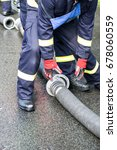 firefighter | Shutterstock . vector #678060559