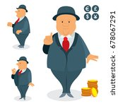 businessman character design... | Shutterstock .eps vector #678067291
