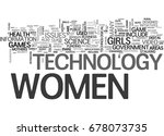 what does tech have to do with... | Shutterstock .eps vector #678073735