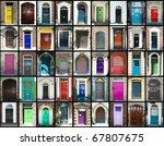 door montage | Shutterstock . vector #67807675