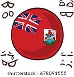 bermuda islands country ball