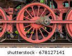 an old locomotive | Shutterstock . vector #678127141