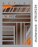 active energy stripes | Shutterstock .eps vector #678139234