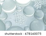 close up bubble from oil | Shutterstock . vector #678160075