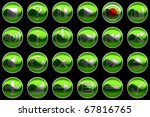 round green control panel... | Shutterstock . vector #67816765