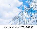 the clouds floating over the... | Shutterstock . vector #678174739