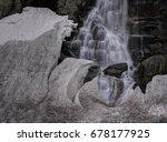 Waterfall Skok  High Tatras...