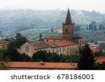 historic church of perugia ...   Shutterstock . vector #678186001