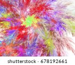 Colorful Feathery Fractal...