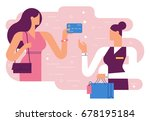 shopping   | Shutterstock .eps vector #678195184