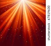snowflakes and stars descending ... | Shutterstock .eps vector #67819630