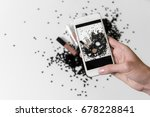 instagram photography blogging... | Shutterstock . vector #678228841