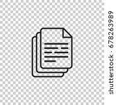document icon vector...