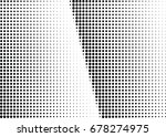 abstract halftone dotted... | Shutterstock .eps vector #678274975