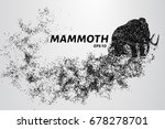 the mammoth of the particles.... | Shutterstock .eps vector #678278701