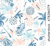 Nautical Seamless Pattern. Han...