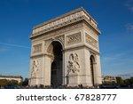 triumphal arch | Shutterstock . vector #67828777