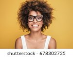 young beautiful african... | Shutterstock . vector #678302725