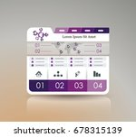 business dashboard design with...