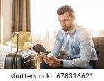Young Man Business Traveler...