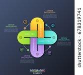 creative infographic design...   Shutterstock .eps vector #678319741