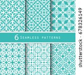 a pack of vintage pattern... | Shutterstock .eps vector #678326149