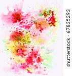 Abstract Background  Watercolo...