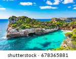 spain mediterranean sea ... | Shutterstock . vector #678365881