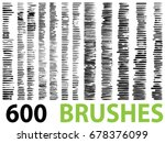 vector very large collection or ... | Shutterstock .eps vector #678376099