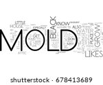 what black mold likes to grow... | Shutterstock .eps vector #678413689