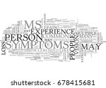 what are the symptoms of... | Shutterstock .eps vector #678415681