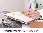 business calender planner...   Shutterstock . vector #678429949