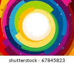 funky background featuring... | Shutterstock .eps vector #67845823