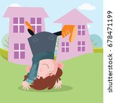 Boy Somersaults Outside The...