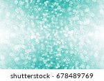 abstract glittery teal green...   Shutterstock . vector #678489769