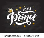 illustration of little prince  ... | Shutterstock .eps vector #678507145