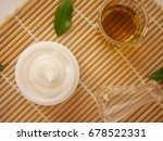 cream or lotion in the white... | Shutterstock . vector #678522331