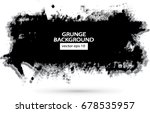vector figured brush strokes... | Shutterstock .eps vector #678535957