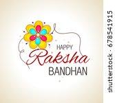 vector abstract for raksha... | Shutterstock .eps vector #678541915