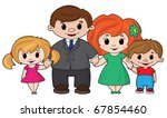 illustration of a cheerful... | Shutterstock .eps vector #67854460