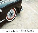 vintage car classic car retro... | Shutterstock . vector #678566659