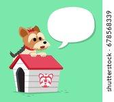 cartoon character yorkshire... | Shutterstock .eps vector #678568339