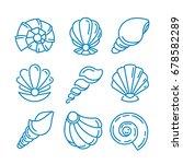 spa salon logo design. vector... | Shutterstock .eps vector #678582289