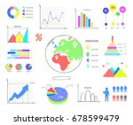 bright colorful graphics and... | Shutterstock .eps vector #678599479