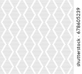vector seamless pattern. modern ... | Shutterstock .eps vector #678605239
