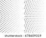 abstract halftone dotted...   Shutterstock .eps vector #678609319